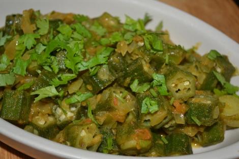 Bhindi Bhaji ( Okra dry curry )